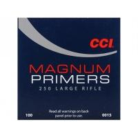 CCI AMORCES 250LARGE RIFLE PRIMERS X100