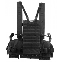 Gilet chest rigg Molle Noir - swap